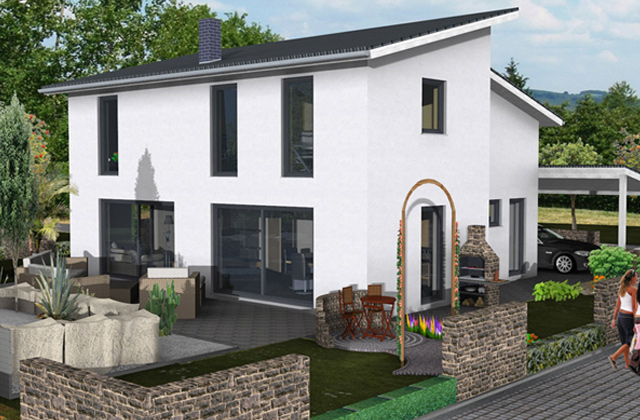 baufirmen mainz reihenhaus mainz 128 town country haus lizenzgeber haus mainz doppelhaus 128. Black Bedroom Furniture Sets. Home Design Ideas